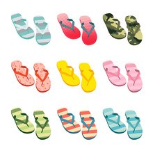 Vector Set With Cute And Color...