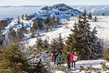 Winter Am Grossen Arber Im Bayerischen Wald