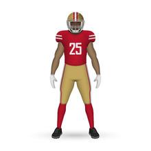 3D Realistic American Football...