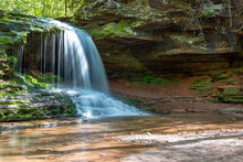 Lost Creek Falls Near Cornucopia Wisconsin