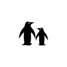 Penguin Logo Template Vector I...
