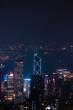 Beautiful view of Hong Kong at Victoria Peak