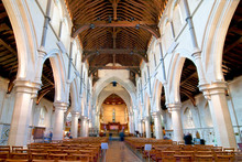 Interior Of The Christ Church Cathedral. Canterbury, South Island, New Zealand.