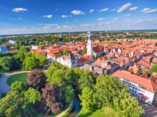 Celle Aerial View From Drone, ...