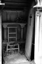 Unhinged Door And Broken Chair...