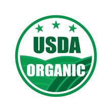 USDA Organic Shield Sign