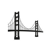 Vector Golden Gate Bridge
