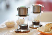 Drip Coffee.  Breakfast Set Me...