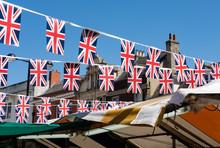 Isolated Image Of Union Jack R...