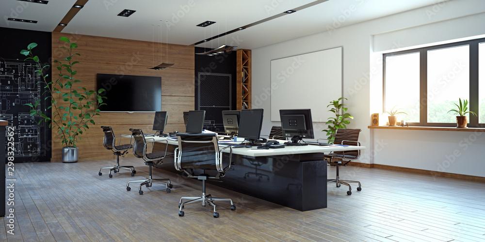 Fototapety, obrazy: Modern  office interior design