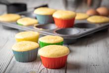 Homemade Cupcake Image With Ir...