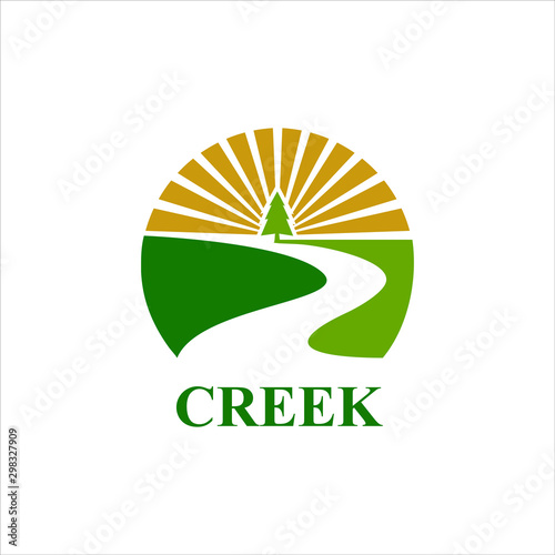 Fotografia creek logo