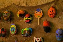 Halloween Pumpkin Background W...