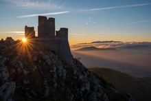 Ruins Of Medieval Castle Of Ro...