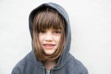 Portrait Of Smiling Little Gir...
