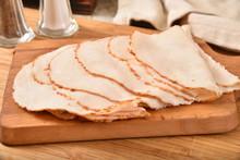 Thin Sliced Roasted Turkey