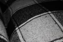 Background Of Dark Gray Blanket