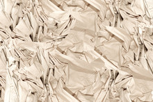Close Up Of Crumpled Papers