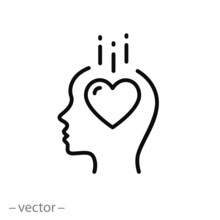 Love In The Head Icon, Head Hu...