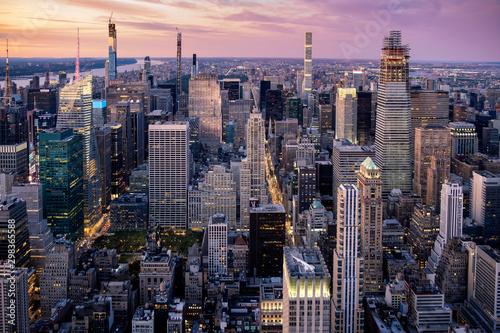 Cadres-photo bureau New York New York City skyline