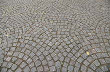 Old Cobblestone Pavement Close...