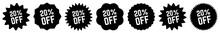 20 Percent OFF Discount Tag Bl...
