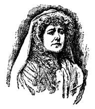 Ellen Alicia Terry, Vintage Illustration