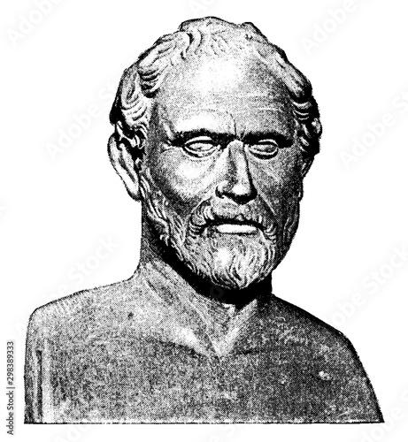 Photo Demosthenes, vintage illustration