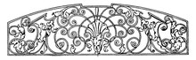 Wrought-Iron Grill Panel Is A ...