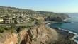 Aerial Shot of California Coastline Palos Verdes Tide Pool