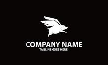 Pig Fly Logo Design Inspirations