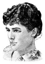 Jennie Churchill, Vintage Illu...
