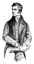 Lord Henry Brougham, Vintage Illustration