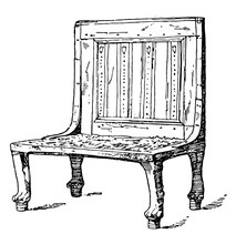 Egyptian Chair Is Treated As A...