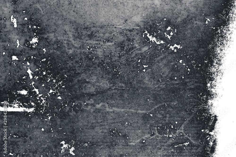 Fototapety, obrazy: Grunge black and white background for design.