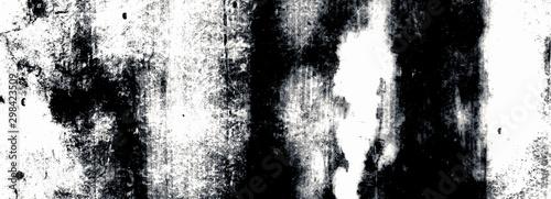 Pinturas sobre lienzo  Grunge black and white background for design.