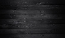 Black Wooden Background, Old W...