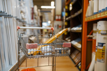 Hardware Store Assortment, Cart With Equipment