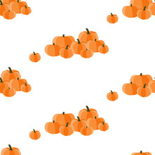 Seamless Pattern With Halloween. Background For Textiles, Fabrics, Covers, Wallpapers, Print, Gift Wrapping And Scrapbooking. Raster Copy.