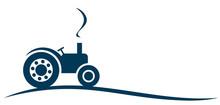 The Symbol Of Big Heavy Tractor.
