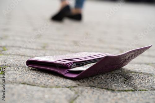 Lost Wallet On Street - 298456972