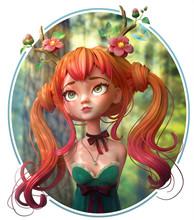 3d Digital Illustration Of Dru...