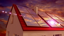Solar Panels Installed On A Ro...