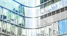 Glass Facade Of Modern Office ...