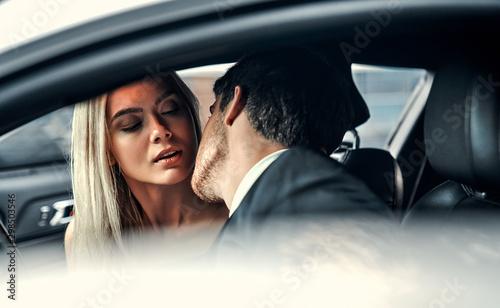 Fotografía  Couple in car