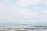 Baltic sea coast, minimalistic beach background - 298517386