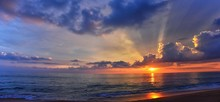 Phuket Beach Sunset, Colorful ...
