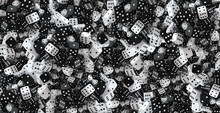 A Lot Of Black And White Moder...