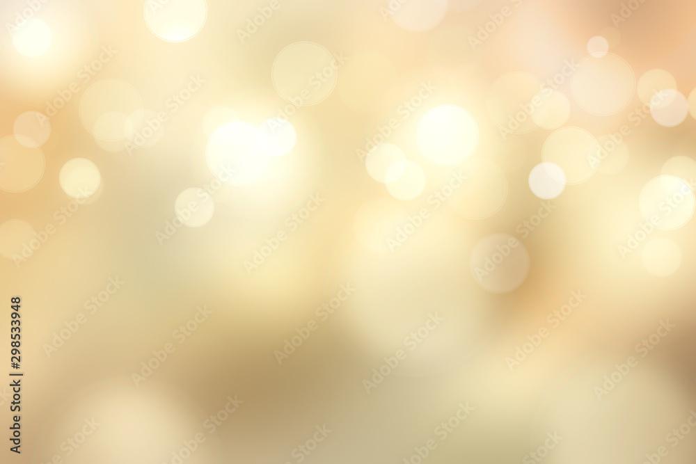 Fototapety, obrazy: Elegant gold bokeh background