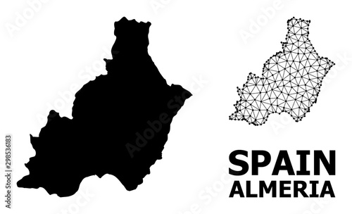 Solid and Carcass Map of Almeria Province